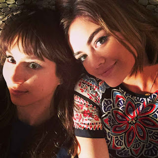 PLL BTS 6x15 Sparia photo (Lucy Hale and Troian Bellisario)