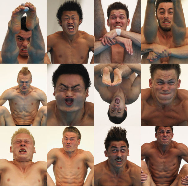 Funny Olympic Faces