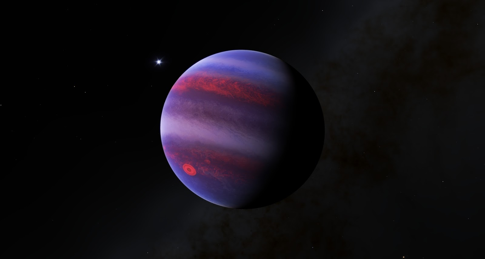 Planet Jupiter Surface Temperature