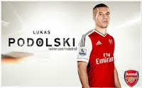 Jersey Arsenal 2013-2014 Terbaru