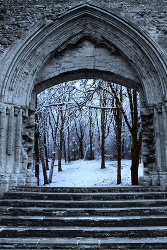 winter wonderland wedding arches