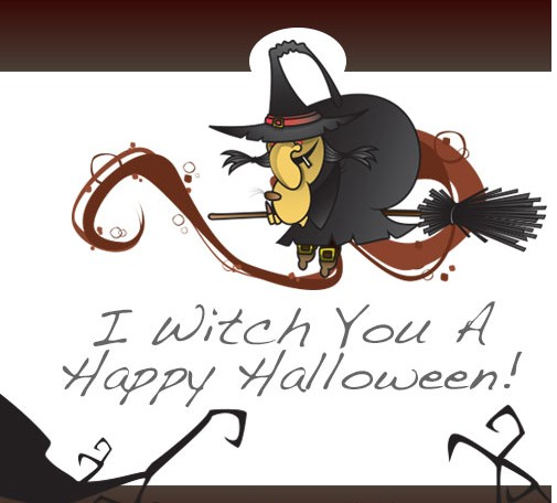 Wishing Witch You Happy Halloween 2014