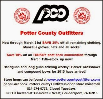 PCO Specials For March
