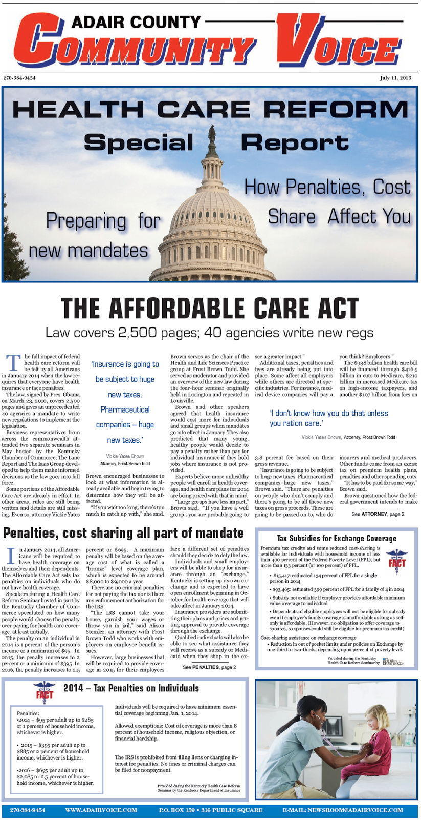 new health care benefits affordable care