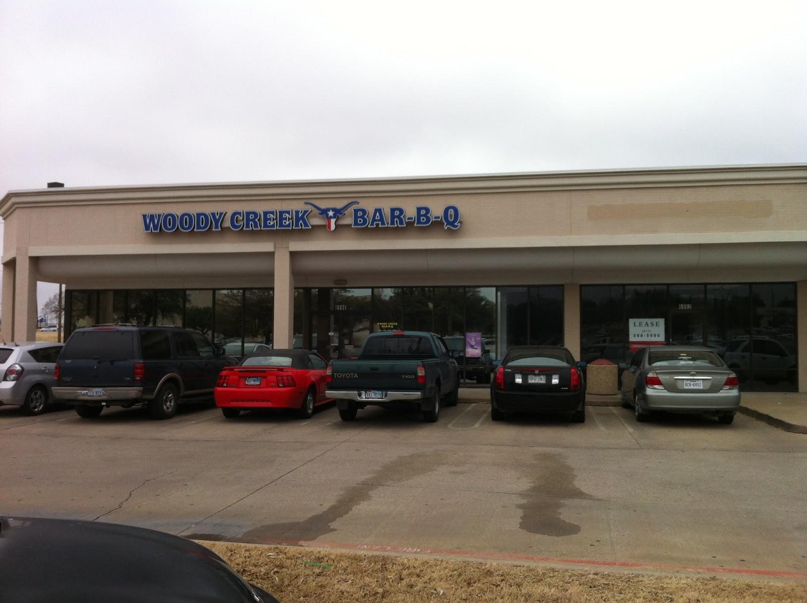Woody Creek Bar-B-Q BBQ Bar-B-Que Barbecue Barbeque Fort Worth