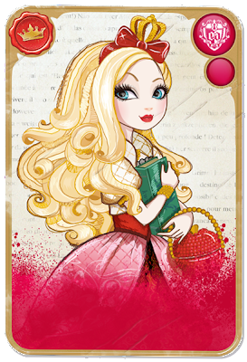 TOYS: Apple White : Ever After High | DOLL | MUÑECA -  card - carta