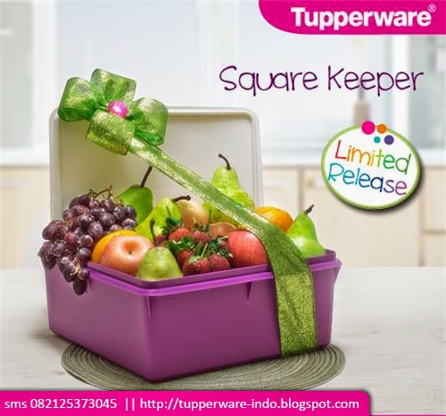 Tupperware Square Keeper