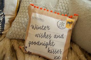 George at ASDA Christmas range 2015 cushion