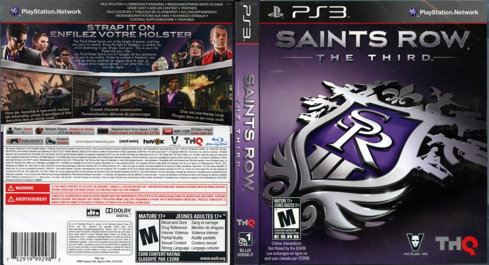 Saints row the third uncensor patch sex clips