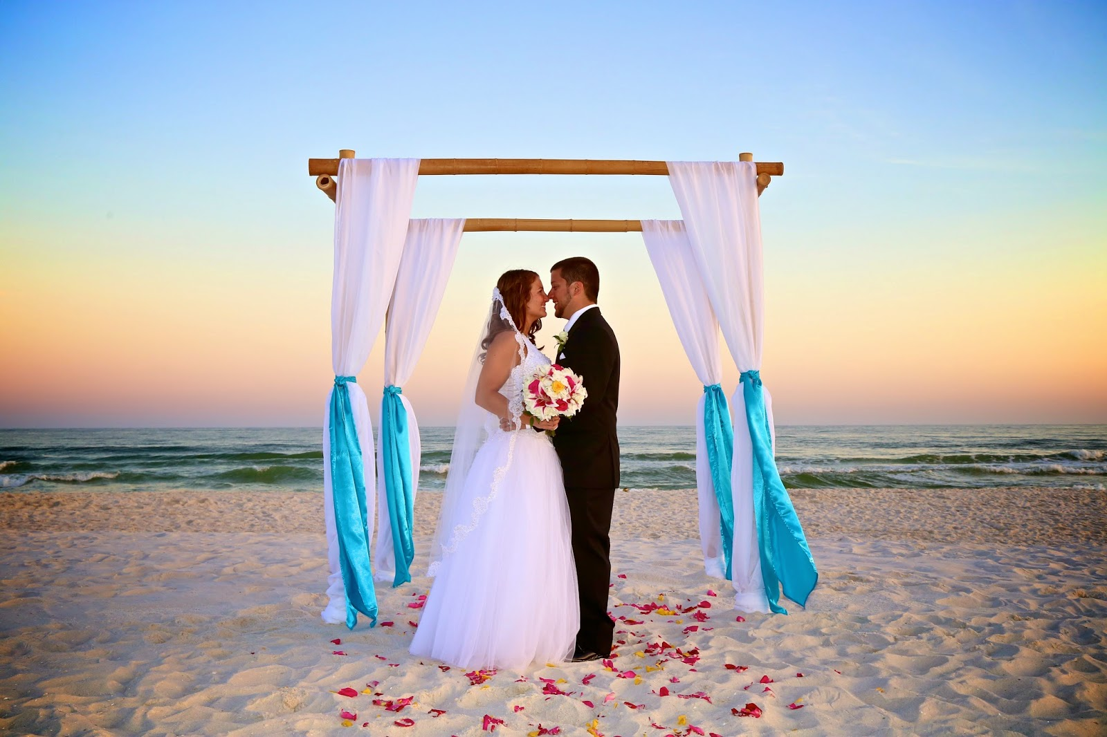 Sunshine Wedding Company Beach Wedding Package Ultimate Bamboo