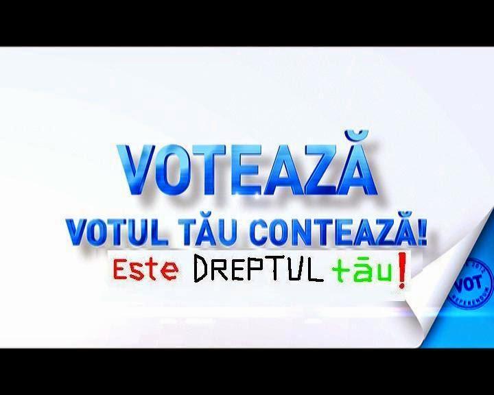 mergi la vot dreptul tau