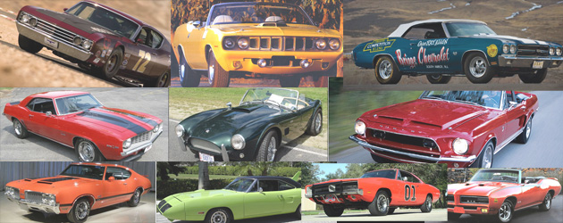 Popular Muscle Cars