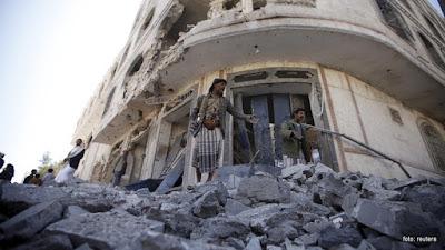 Koalisi Arab Saudi Tewaskan Puluhan Syiah Houthi