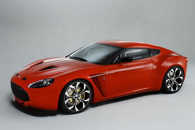 Aston Martin Reveals V12 Zagato