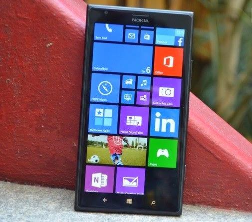 Tela do Lumia 1520 tem resolução Full HD