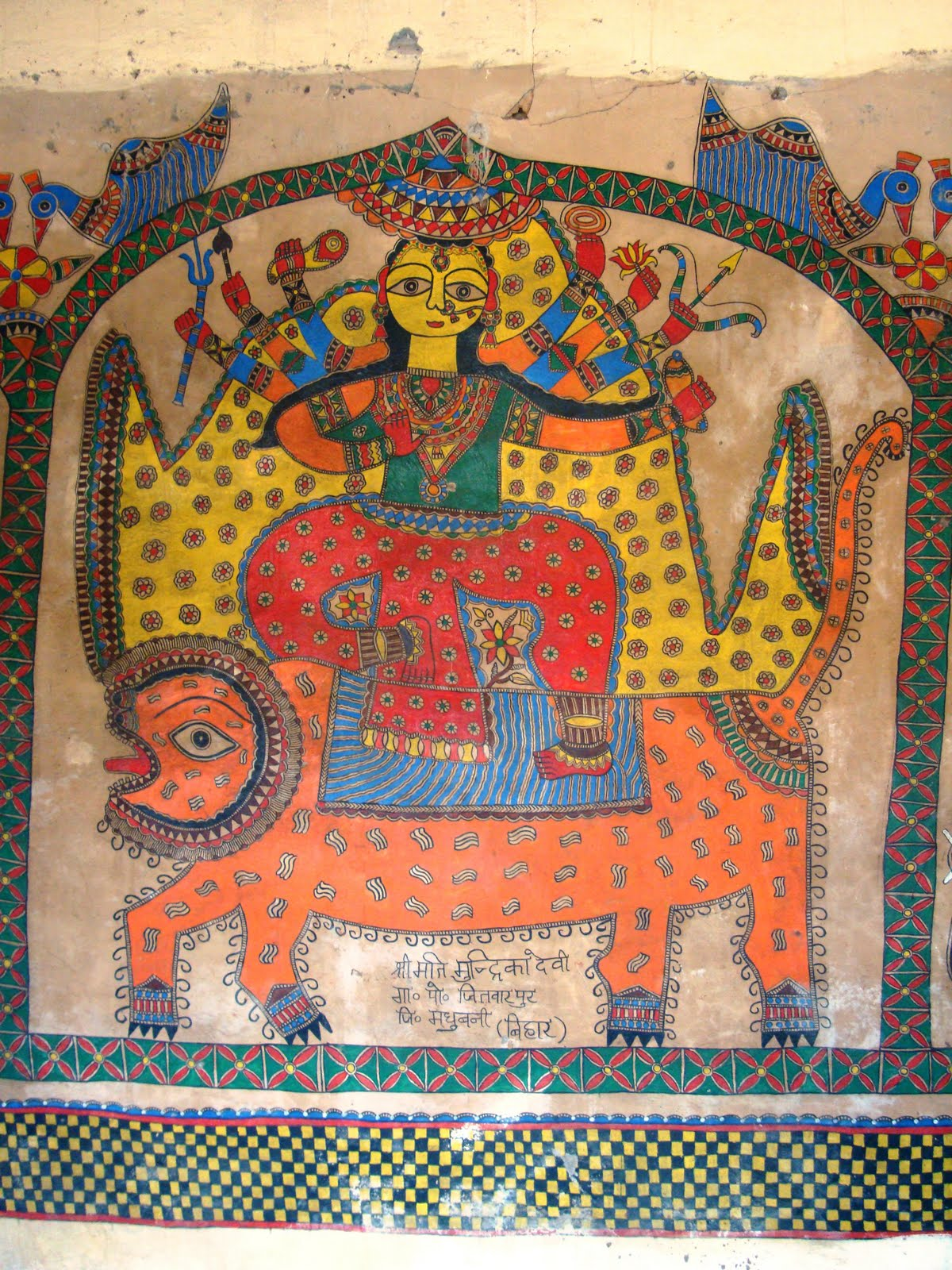 Day 6 Durga Maa Crafts Artsy Craftsy Mom