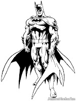 Mewarnai Batman Sang Pembela Kebenaran