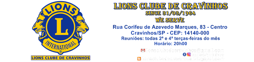 Lions Clube de Cravinhos - WE SERVE