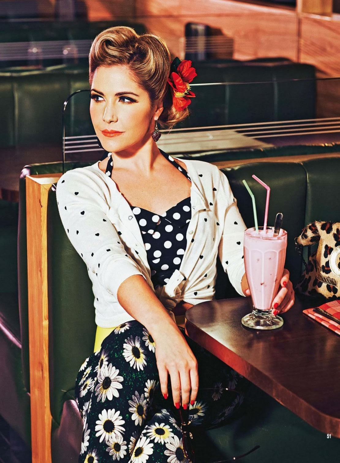 Heidi Range HQ Pictures Hello UK Magazine Photoshoot February 2014