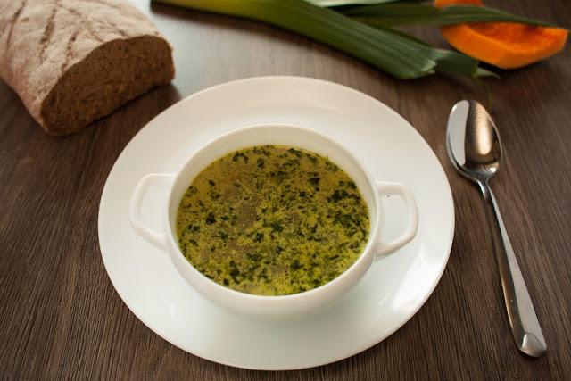 суп с писту и овощами