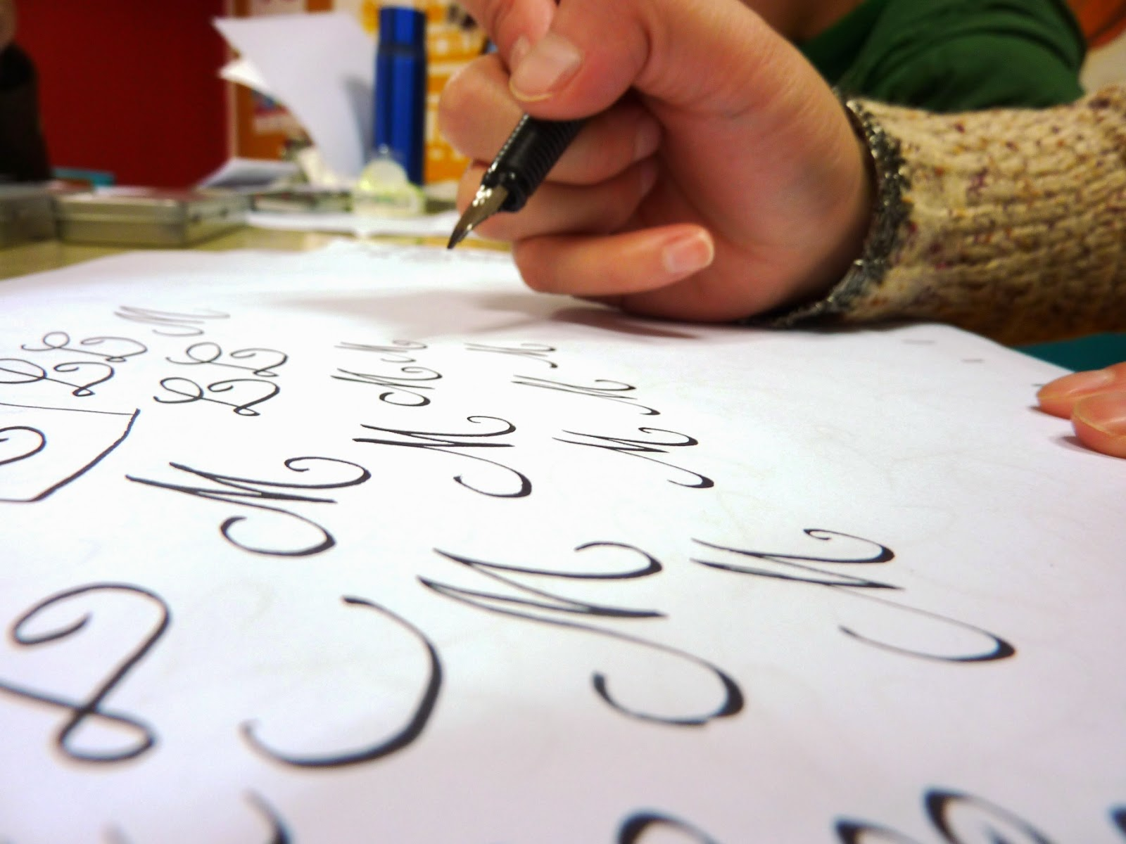 Western calligraphy