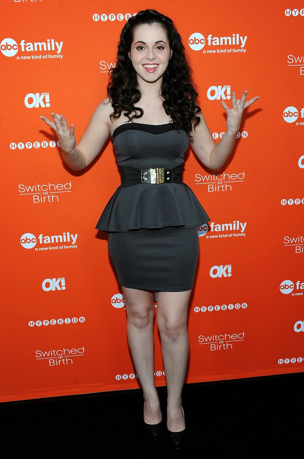 56649 Vanessa Marano Switched at Birth Premiere and Book Launch Party    Vanessa Marano Switched At Birth 2014