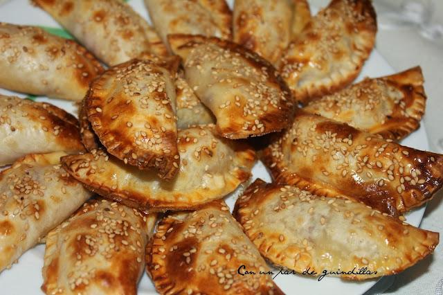 Empanadillas de jamón y queso