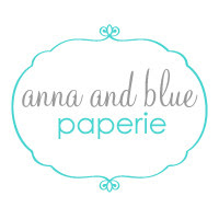 Featured on anna and blue paperie blog!