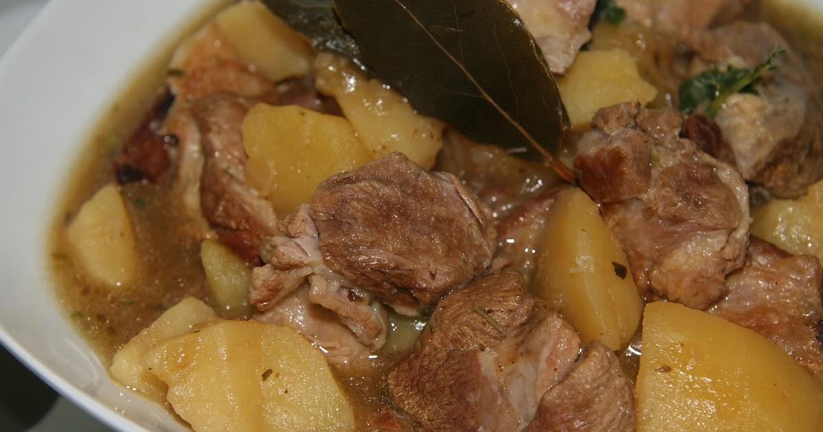 Hierbabuena y pimienta caldereta de cordero en olla for Cocinar en 30 minutos