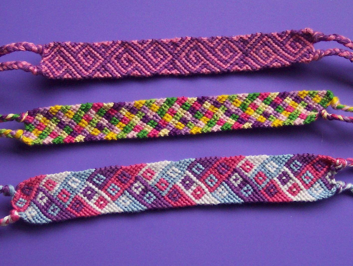 Cool String Bracelets Cool Friendship Bracelet — Crafthubs