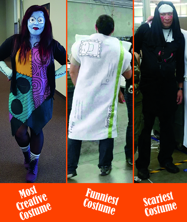 GotPrint Halloween Costume Winners