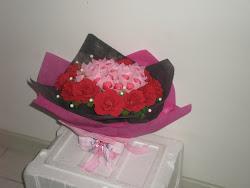 Jambangan Bunga Set B