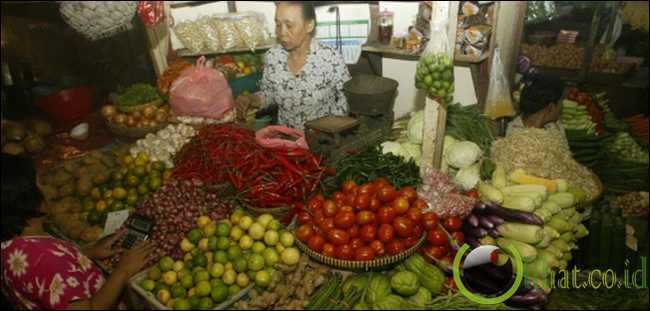 Pro rakyat kecil dengan pasar tradisional