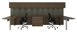 Cherryman Verde Multi User Modular Executive Station