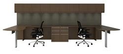 Cherryman Verde Multi User Modular Executive Station