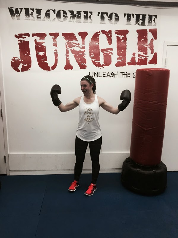 my fitness transformation 2, kickboxing class, welcome to the jungle, kickboxing, kicks karate potomac, maryland kickboxing class