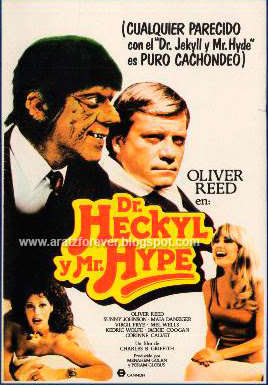 Dr. Heckyl y Mr. Hype, oliver reed, dick miller, jekyll hyde, Charles B. Griffith