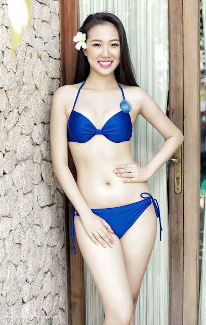 Hình ảnh đẹp Hoa Khôi bikini