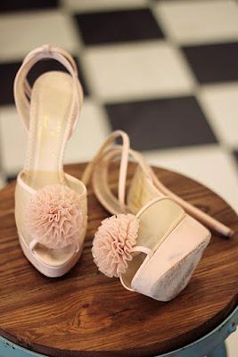 Charlotte Olympia pom pom shoes