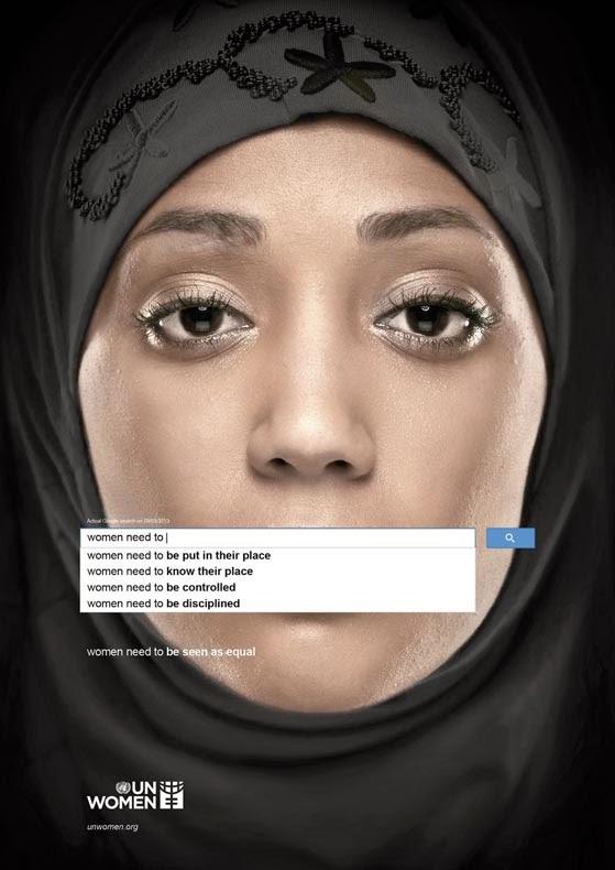 campaña publicitaria ONU derechos mujeres