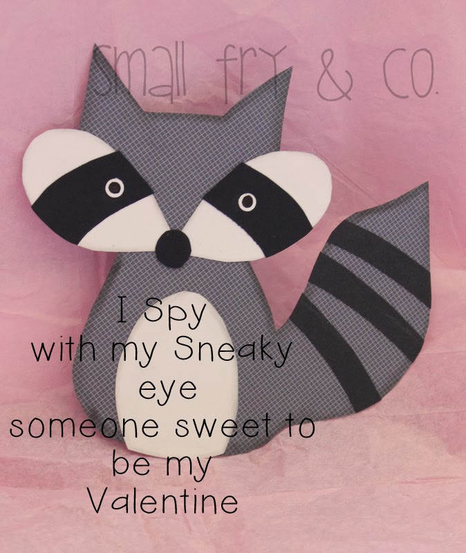 Small Fry Amp Co What Does The Fox Say Valentine Card