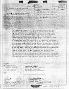 OSI Report Re UFO Over Long Beach & Muroc, California (Pg 1) 10-25, 26, 30-1951
