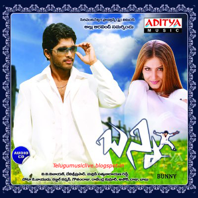 Bunny(2005) Telugu Movie Mp3 Songs Free Download