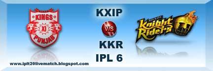 IPL 6IPL 6 KXIP vs KKR Full Highlight Video Match