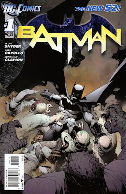 Batman Issue #1 Cover Artwork