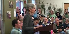 Jill Stein - a Vermont townhall.