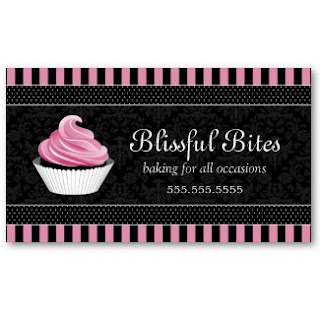 Business card showcase by socialite designs elegant cupcake bakery todays business card is for the bakery these elegant cupcake business cards are available in vibrant colors with a damask background reheart Images