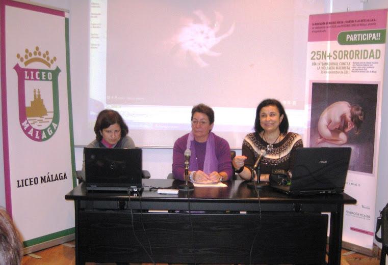 Día Internacional contra la violencia machista ALAS en el Picasso contra la violencia de género