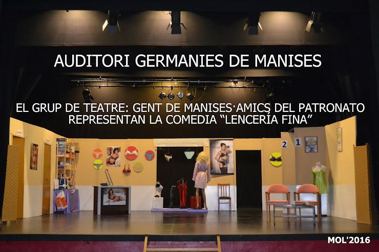 29.01.16 GENT DE MANISES·AMICS DEL PATRONATO