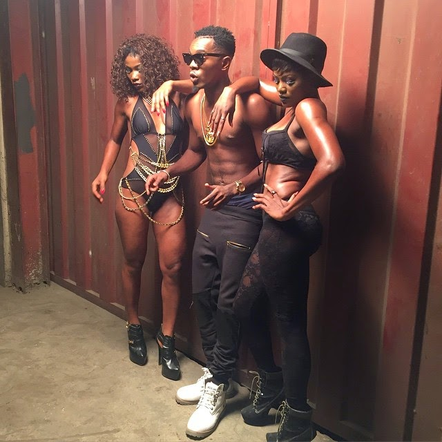 Patoranking & his Dancers Get Sexy in New Photos - Nigeria News Today,  Breaking News & Opinion - Kevin Djakpor Blog